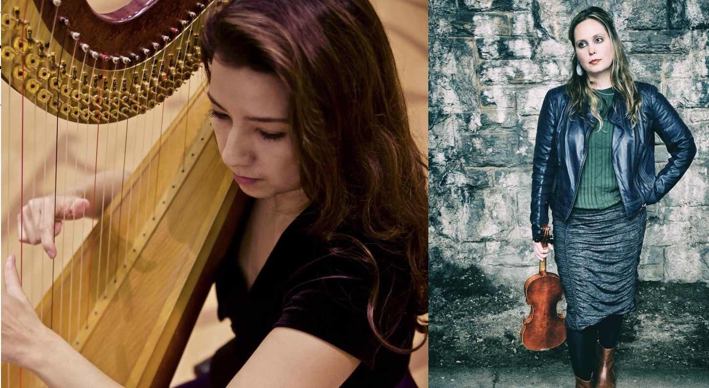 Concert Series: Anastasia Pike (harp) & Emily Ondracek-Peterson (violin)