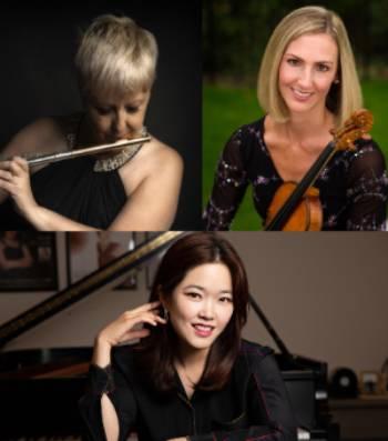 Concert Series: Kimberly McCollum (violin), Melinda Wade-English (flute), and Woobin Park (piano)